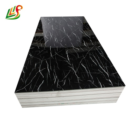 High gloss melamine PVC decorative wall covering faux stone wall panel(图1)